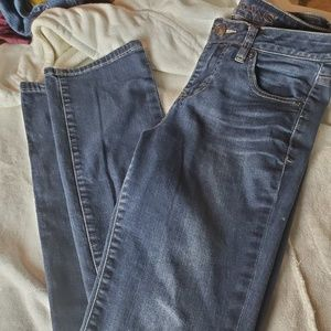 Jag  Women's Relaxed Fit Denim Jeans Size 4  Blue